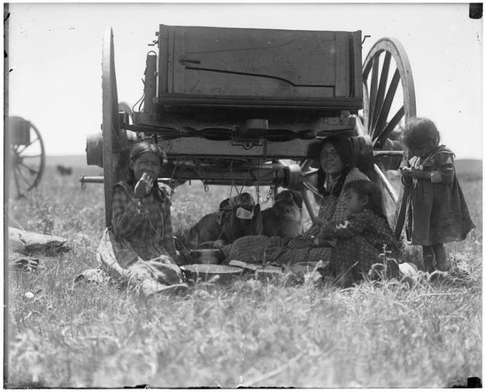 'Little Owl family' ~ (Siksika) ~ Montana, 1905