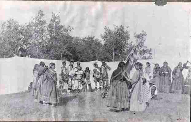 'Women's Dance' ~ Prince Albert, Sask. 1913