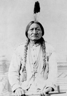 Chefe Sioux Touro Sentado -foto 1885